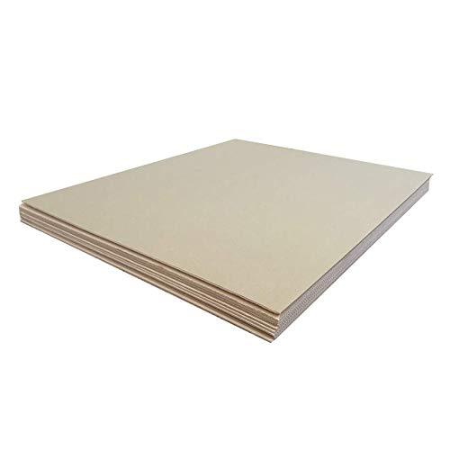 Cajeando | Pack de Diez (10) Planchas de Cartón | Tamaño 120 x 140 cm | Mudanzas | Protección para Pintar u Obras | Fabricadas en España