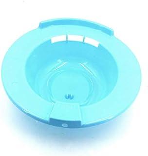 Toilet Sitz Bath tub with water bag - blue