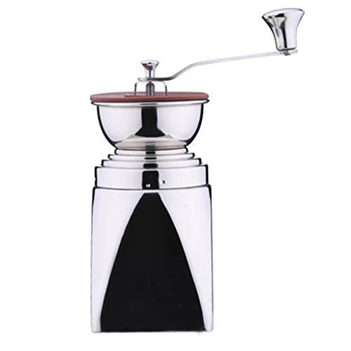 Dzwyc Máquina de molienda Molin para Molinos manuales multifunción Mano compacta Grindero de café de Acero Inoxidable para la asa de café de la cafetera del Molinillo de la Oficina de Viaje Manual