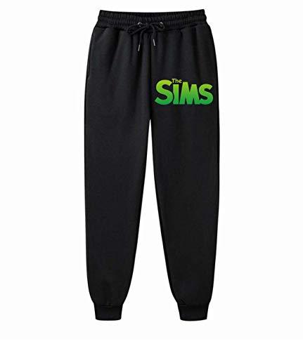 ALIBOTE Los sims Mens cómodos pantalones de chándal