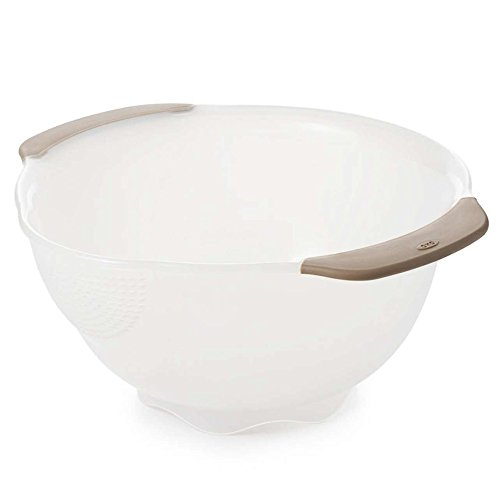 OXO 11166900 Good Grips Rice, Quinoa and Small Grains Washing Colander,Clear