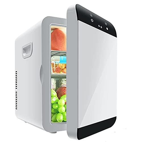 Mini Refrigerador Para Automóvil De 12 L Con Enfriador Y Calentador, Enfriamiento Y Calefacción Rápidos Para La Oficina En El Hogar, Para El Cuidado De La Piel, Dormitorio, Caravana