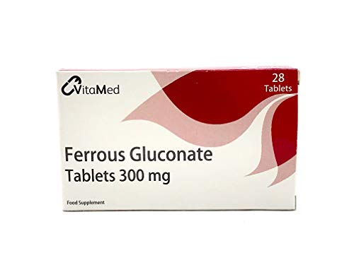 Vitamed 300mg Ferrous Gluconate 28 Tablets