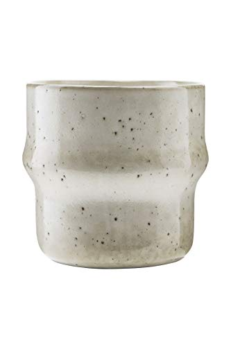 House Doctor Hc0320 Tasse aus Steingut, Grau