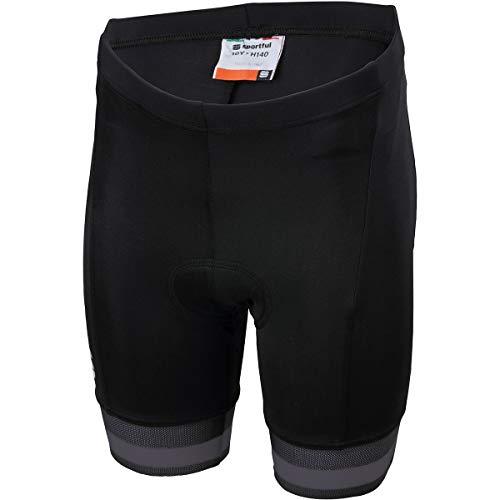 Sportful Pantaloni Ciclismo Tour 2.0 Bambino, Nero, 12 Jahre