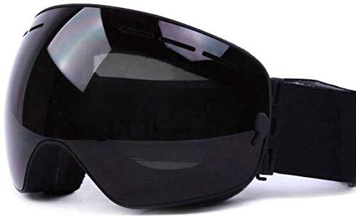Giow UV400 Anti-Fog Doppellinsen Skibrille Big Ski Maske Brille Skifahren Schnee Snowboard Brillen Spiegelbeschichtung Brillenetui