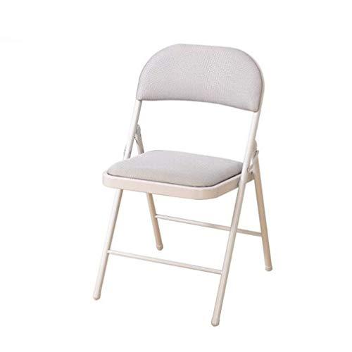LLSS Silla Plegable Acolchada de Tela sillones reclinables Silla Plegable para Personal de Oficina...