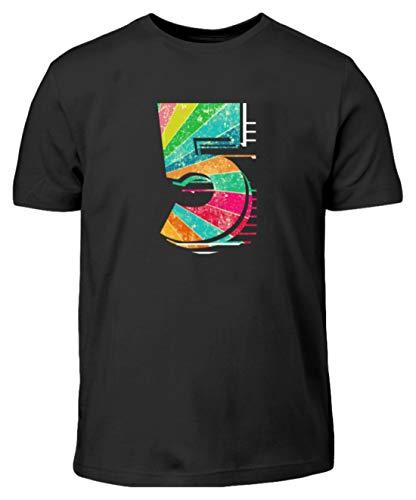 Camiseta infantil con cinco números, número de perspectiva, número favorito, amuleto de...