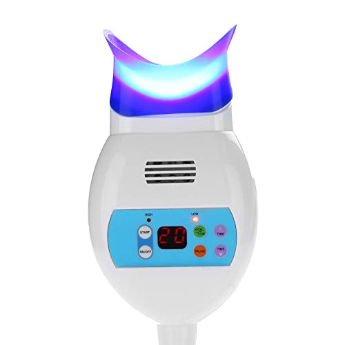 Luz para blanquear los dientes - Blanqueamiento de dientes rápido y eficaz, 2 tipos de luz fría dental Máquina de blanqueamiento de dientes LED Lámpara de blanqueamient(EU Plug)