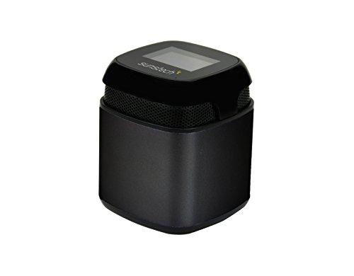 Sunstech SPUBT710BK - Altavoz con Bluetooth (micrófono, FM, SD, USB, AUX-In, 3 W RMS) Color Negro
