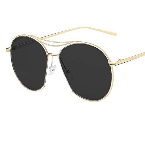 LDH Gafas De Sol Polarizadas, Gafas De Sol Anti-Ultravioleta De Alta Definición para Mujeres, Gafas De Sol De Marco Grande Elegantes Y Ligeras con Protección UV400 (Color : E)