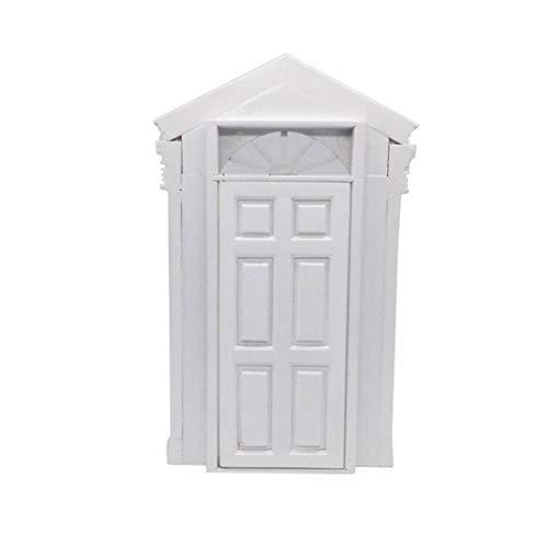 Eamoney 1:12 Miniature:Door Mini Dollhouses Accessory DIY Dollhouse Dcor Toy House Model Kids Toy