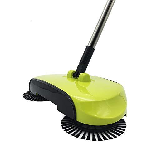 RENNICOCO Automatische Hand Push Sweeper 360 Rotary Automatische Besen Bodenstaub Reinigung Kehrmaschine Haushaltsreiniger Mopp Werkzeug