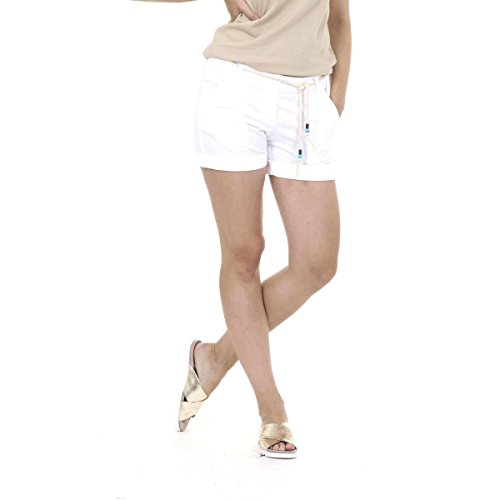 Fred Perry Fred Perry Womens Shorts 31502612 9100 BIANCO
