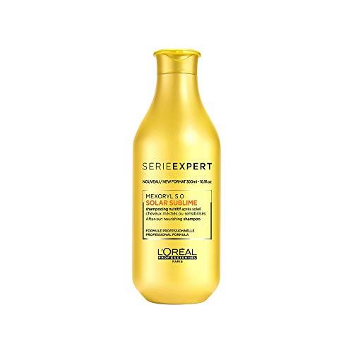 L'Oreal Paris L'oreal Solar Sublime Shampoo, Transparente, 300 Mililitros