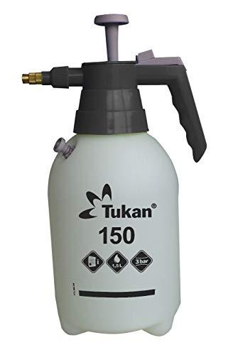 Gloria Tukan 150 Spruzzatore Ugello Regolabile in Ottone e Valvola di Pressione, Bianco, 1.5 Litri