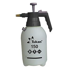 Gloria Tukan 150, pulverizador de presión de 1,5 litros con Boquilla de latón Ajustable y válvula de presión