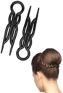 Magic Grip Hair Pins 2 Packs of 10 by Good Hair Days (20 Pins)