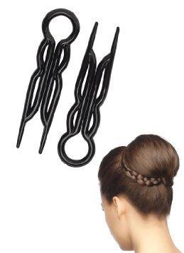 Magic-Grip Hair Pins 2 Packs of 10 by Good Hair Days (20 Pins)