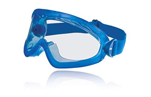 Dräger X-pect 8515 | Gafas de protección contra rayos UV, antiempañamiento, antirayaduras | Gafas de acetato resistentes a productos químicos | 6 pares
