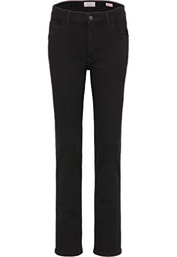 Preisvergleich Produktbild Pioneer - Damen 5-Pocket Jeans in schwarz,  Regular Fit,  Betty (4012-3098),  Größe:W44 / L30,  Farbe:Schwarz (11)