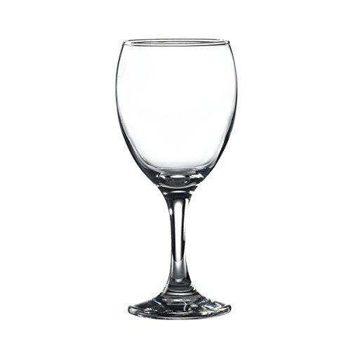 Genware NEV-EMP568 Empire Wijn/Water Glas, 34 cl/12 oz. (pakket van 6)