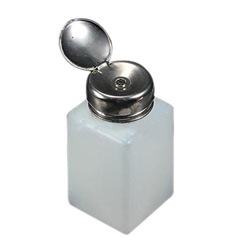 Bluelans. Distributeur à pompe d'acétone et de dissolvant pour vernis à ongles. Flacon de 200 mL à vide