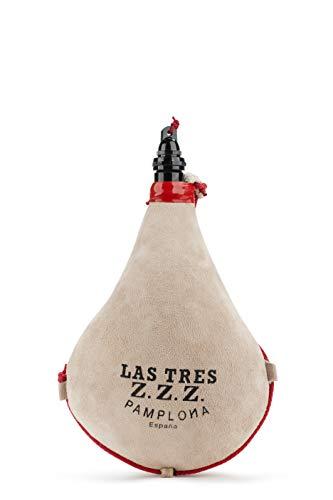 Bota de vino Recta Látex 1 litro