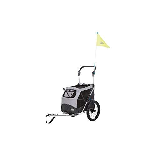 TRIXIE 12796 Fahrrad-Anhänger, Schnell-Falt-Funktion, M