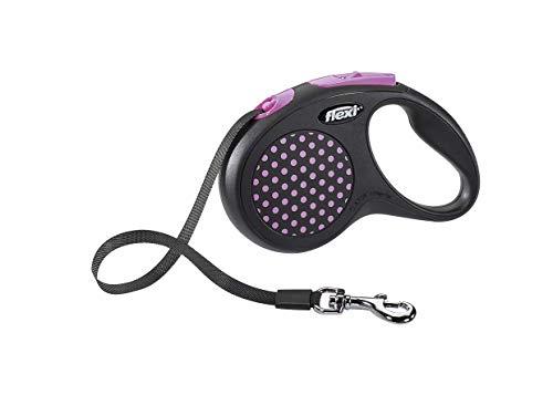 flexi Design S Gurt 5 m pink für Hunde bis 15 kg