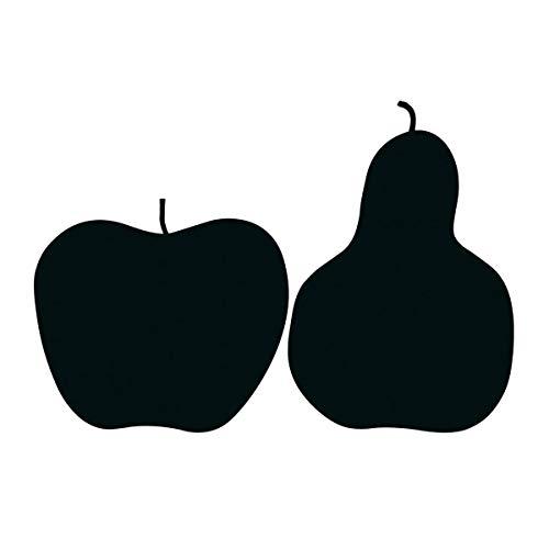 Enzo Mari: La Mela e La Pera - リンゴと梨のポスター