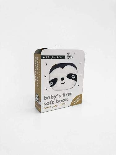 Swing Slow, Sloth: Baby's First Soft Book (Wee Gallery Cloth Books)