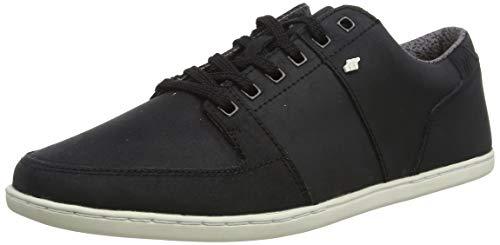 Boxfresh Herren Spencer Sneaker, Schwarz (Black Blk), 43 EU
