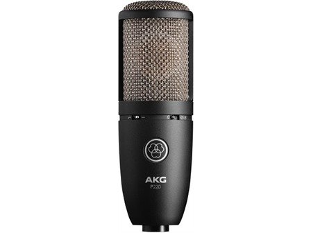 Akg P220, Großmembran-Kondensator-Mikrofon
