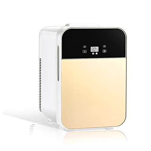 HALIGHT 20 litros Mini refrigerador, AC/DC Enfriador y Calentador portátil con Pantalla Digital y Control Temperatura, refrigerador Compacto, para Cuidado Piel, Leche Materna, Viajes, automóvil