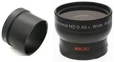 Wide Angle Max 54% OFF Lens + Tube Selling and selling Bundle Powershot S3 S2 for Canon