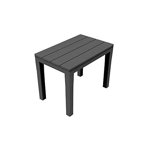 Ipae-Progarden - Banco de jardín - Modelo Timor - Color gris antracita