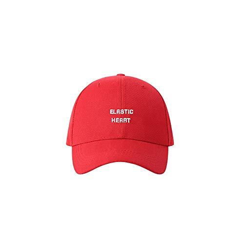 ZZYJYALG Sombreros para hombres béisbol gorra bordado padre sombrero aadjustable algodón adulto deportes sombrero unisex letra bordado béisbol sombrero strapback papá sombrero moda joker suave top gor