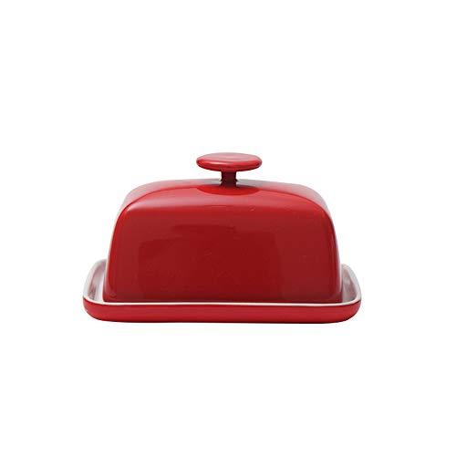 Ciotola in porcellana di alta qualità, materiale alimentare, per contenere e servire burro o margarina. Avere un numero di questi su ogni tavolo o bancone quando si intrattengono gli ospiti. Impugnatura ergonomica per sollevare facilmente il coperchi...
