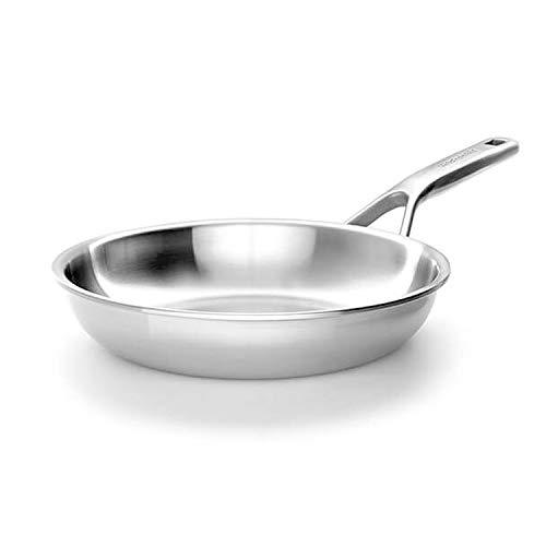 KitchenAid Mehrlagige Edelstahl-Bratpfanne, 3-lagig, 24 cm, unbeschichtet