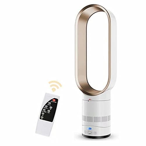 Ventilador de torre de 16 pulgadas,ventilador silencioso sin aspas con control remoto,ventilador purificador de aire de para el hogar,ventilador eléctrico de escritorio para verano,dormitorio