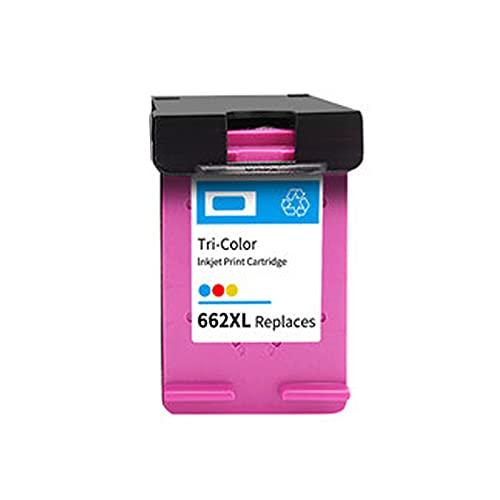 AXAX Compatible para el reemplazo del Cartucho de tóner HP 662XL para HP DeskJet Ink Advantage 1015 1515 2545 2645 3545 Impresora, tóner de Tinta fácil de Instalar Alta f Color
