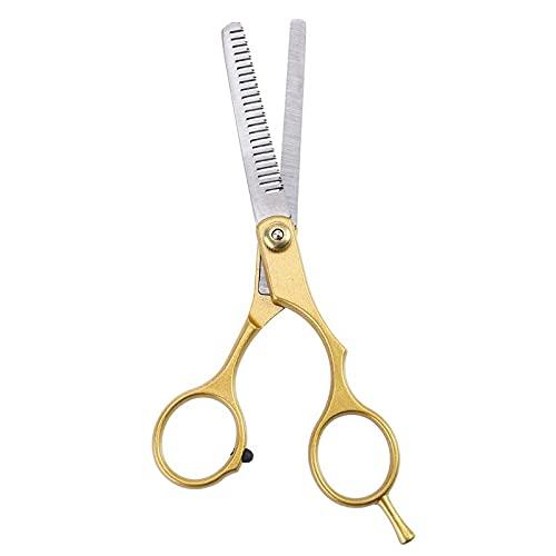 SENFEISM Seguridad 2pcsStyling herramienta dientes de pelo tijeras de acero inoxidable profesional peluquería peluquería peluquería corte de pelo tijeras |