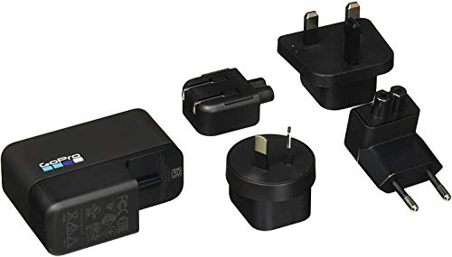 GoPro Supercharger International Dual-Port Charger (HERO7 Black/HERO6 Black/HERO5 Black/HERO(2018) - Official GoPro Accessory