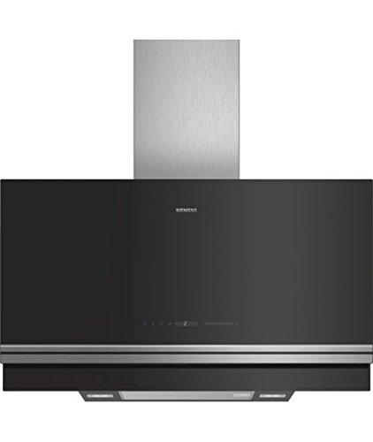Siemens LC97FVV60 Dunstabzugshaube/Kaminhaube/89 cm/CookConnect-System/Luftgütesensor