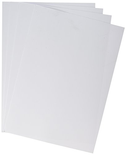 House of Card & Paper Karton 220 g/m² A4 (Pack of 50 Sheets) weiß