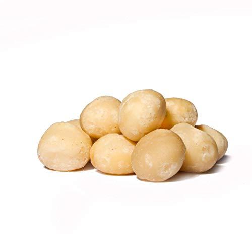 Dorimed - Noix de Macadamia, décortiquées, entières, naturelles, sac refermable 1 Kg