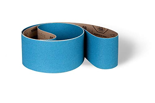 Lot de 10 bandes abrasives FLEXOVIT 100 60 x 400 mm Grain