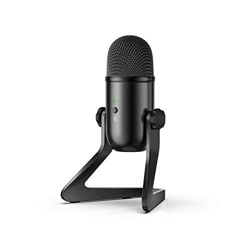 Microphone, Ordinateur Portable USB Microphone à condensateur Professionnel Microphone Chantant Conférence de Classe Nette Enseignement de la Voix