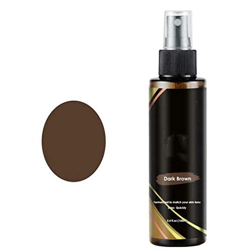 Price comparison product image Lace Tint Spray for Closure,  Lace Tint for Wigs Spray,  Lace Holding Spray Hair Adhesive for Frontal Wigs Human Hair,  Extensions,  Toupees And Hairpieces,  Women Men (Dark Brown)